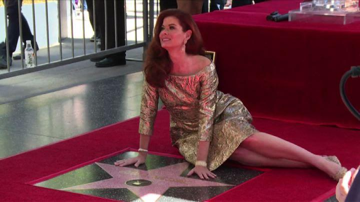 Usa, Debra Messing: una stella sulla Walk of Fame
